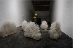 Aaditi Joshi's plastic sculptures