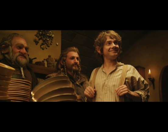Martin Freeman as Bilbo. Perfect.