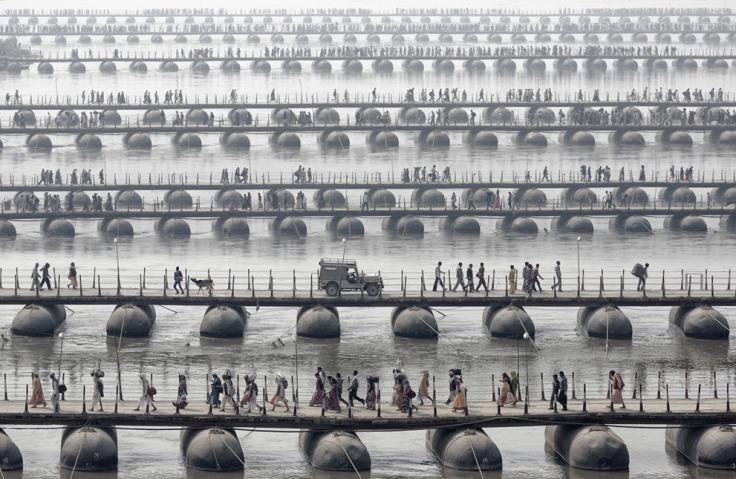 Maha Kumbh Mela, India, by Wolfgang Weinhardt