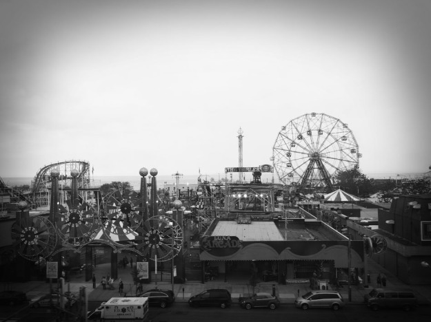 Still Coney Island, still one of my photos.